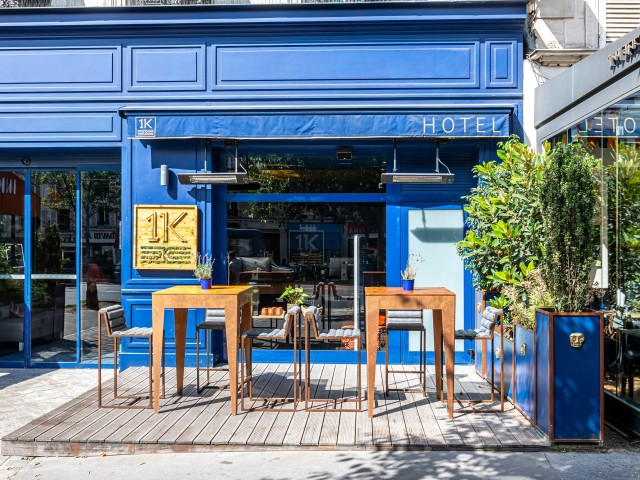 Inka Restaurant 1K PARIS - Terrasse